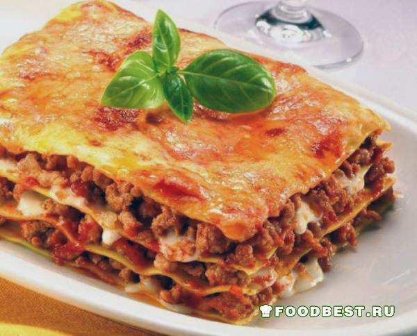 Лазанья – классический рецепт блюда и соуса бешамель