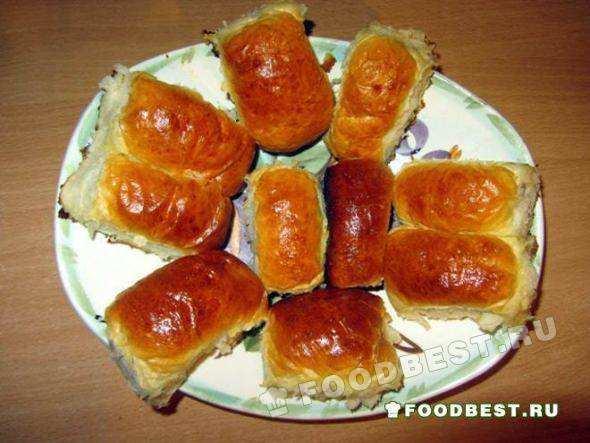 рецепт пирожков на воде дрожжевое тесто в духовке