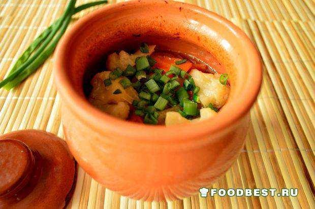 жаркое в духовке со свининой пошаговый рецепт