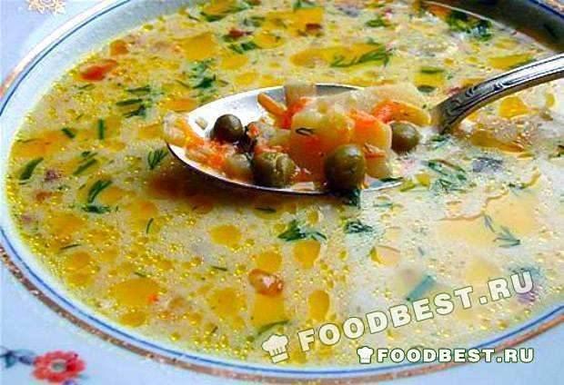 суп из консервированного гороховый рецепт