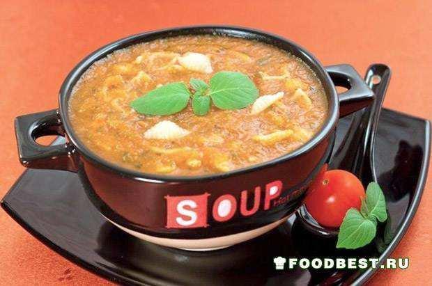 Крем-суп «Паста де-помидоро»