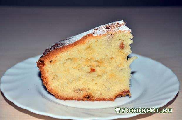 Вкусный и простой домашний кекс на каждый день