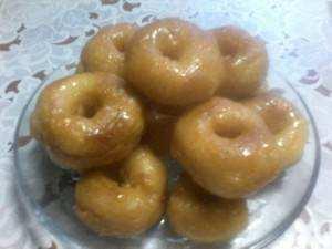 Домашние заварные пончики