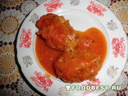 Итоговое фото: Ленивые голубцы в томатном соусе