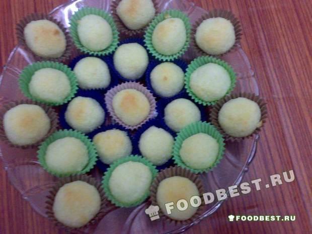 Домашнее кокосовое печенье
