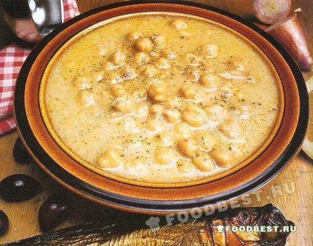 рецепт супа из нута с мясом