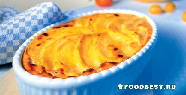 манговый гратен