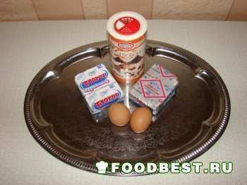 ингредиенты для плавленого сыра