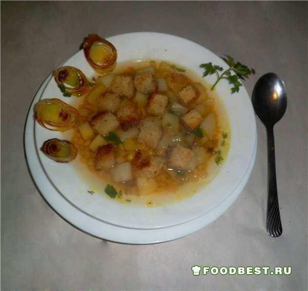 Суп с горохом