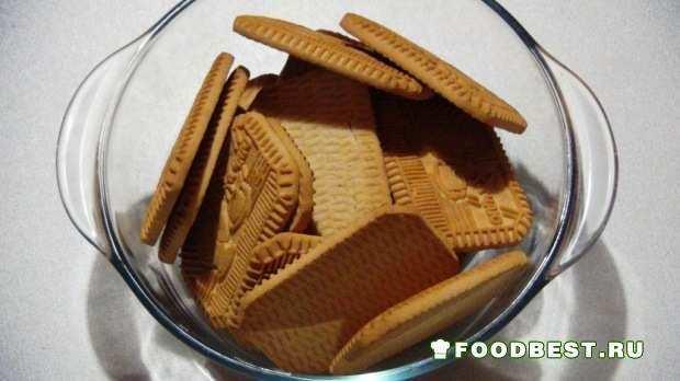 Печенье перед измельчением