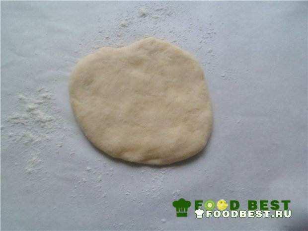 Заготовка к булочке