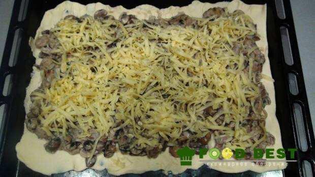 Полуготовый пирог