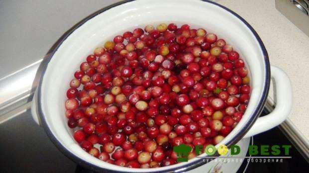 варка ягод