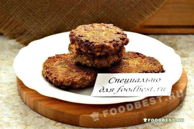 Гречневые котлеты с печенью (куриной)
