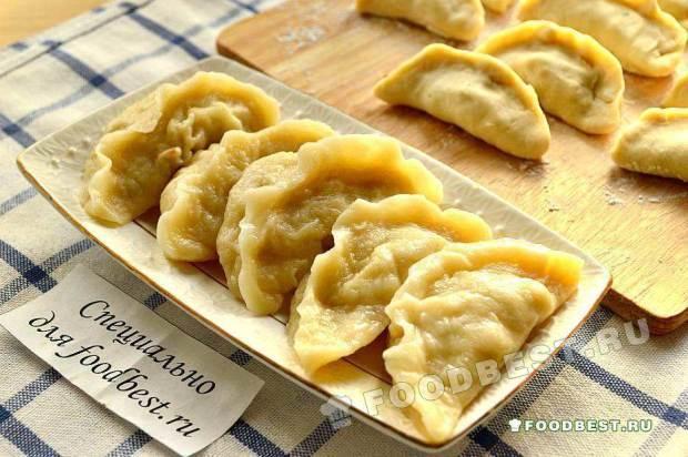 Рецепт вареников салом фото