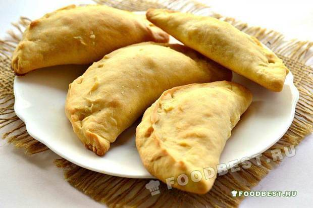 Пирожки с картофелем по-татарски