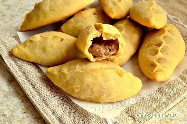 Кибинай – пирожки литовские с мясной начинкой