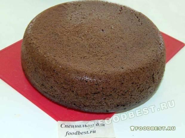 Простой шоколадный пирог в мультиварке