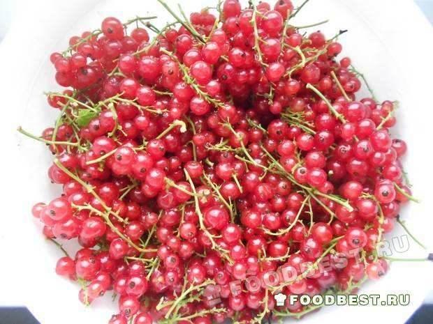 Подготовленные ягоды