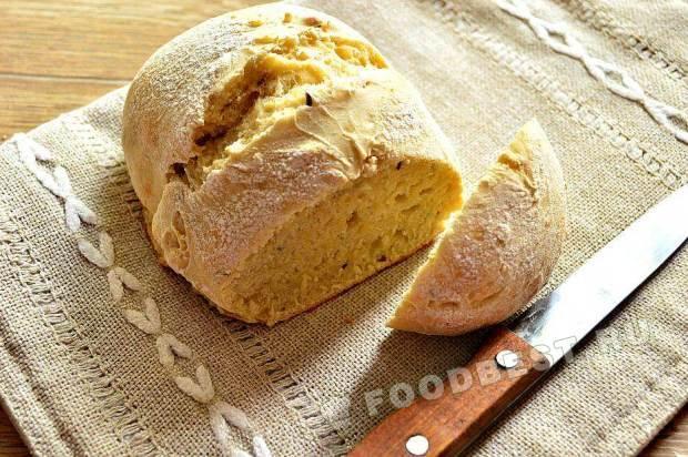 Хлеб с тмином на кефире
