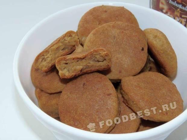Картофельное закусочное печенье (постное)
