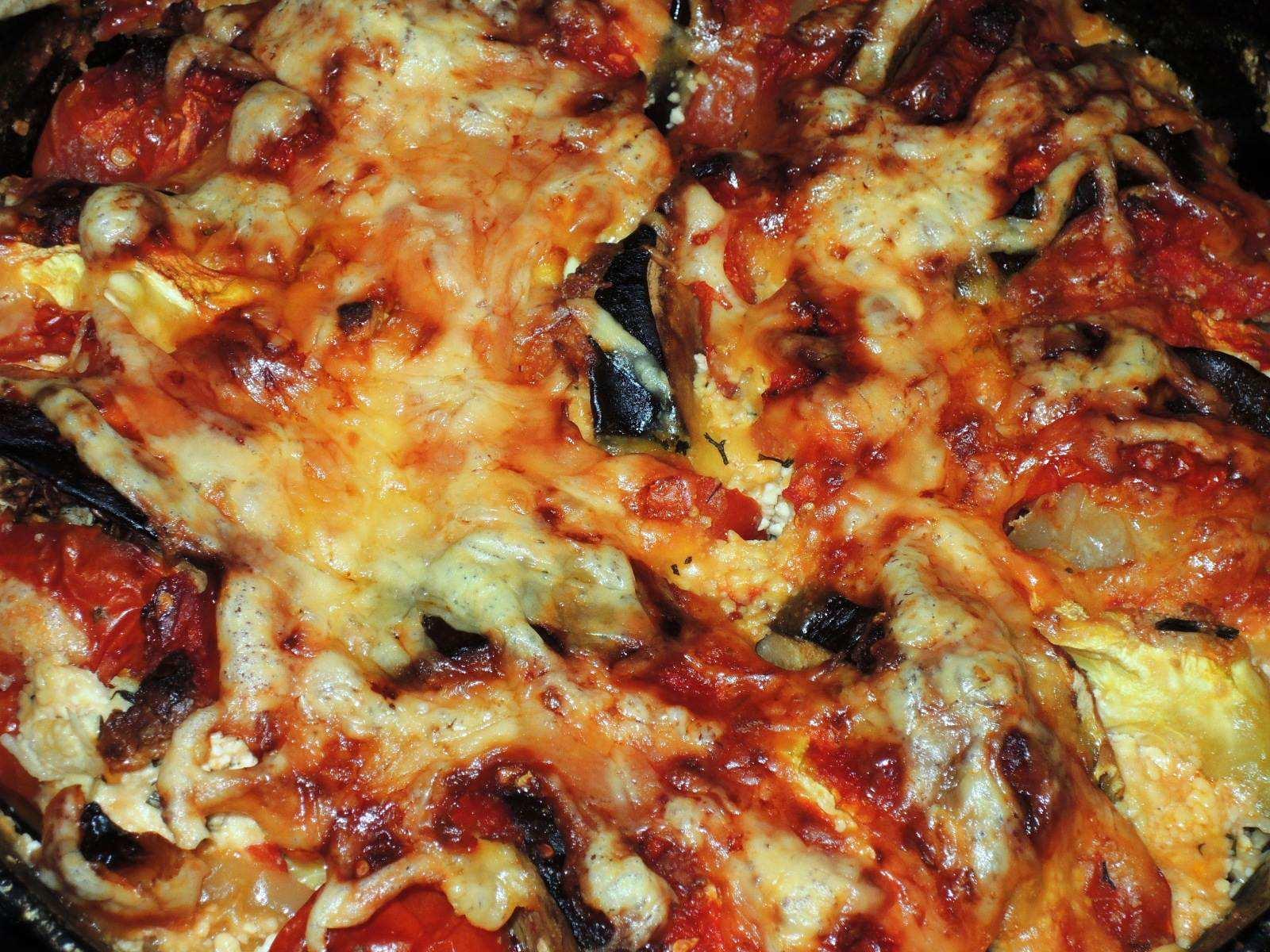 Кабачки и баклажаны, запеченные в духовке рецепт с фото