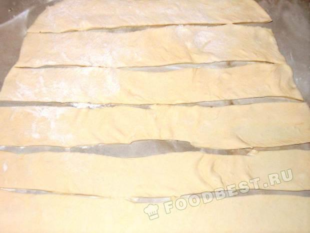 Режим тесто на полоски
