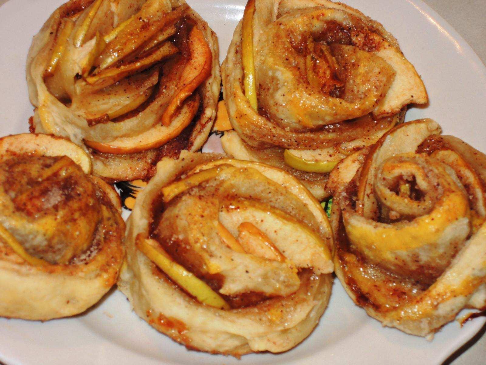 Розочки с мясом рецепт пошагово