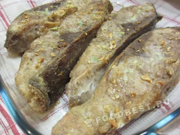 Рецепт толстолобика в духовке пошагово
