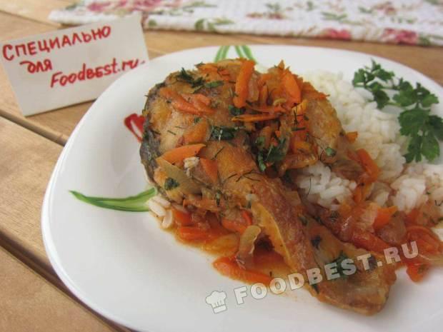 Рыба в томате рецепт пошагово