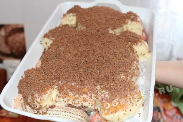 праздничный торт мишка рецепт