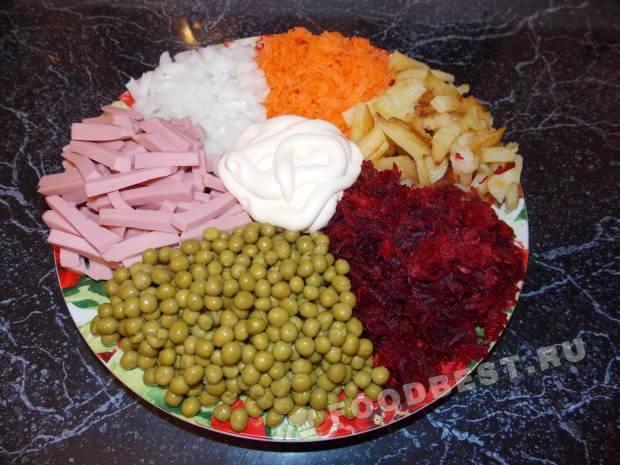 салат козел в огороде рецепт праздничный с мясом