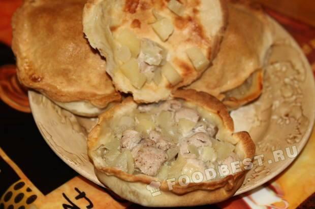элеш из курицы с картошкой рецепт с фото