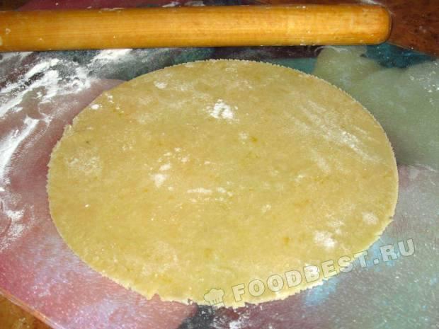 Рыжик со сметанным кремом рецепт с фото