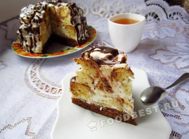 Рецепт торта кучерявый хлопчик с фото