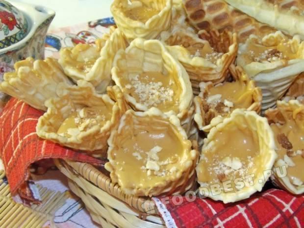Тонкие хрустящие вафли в электровафельнице рецепт с фото