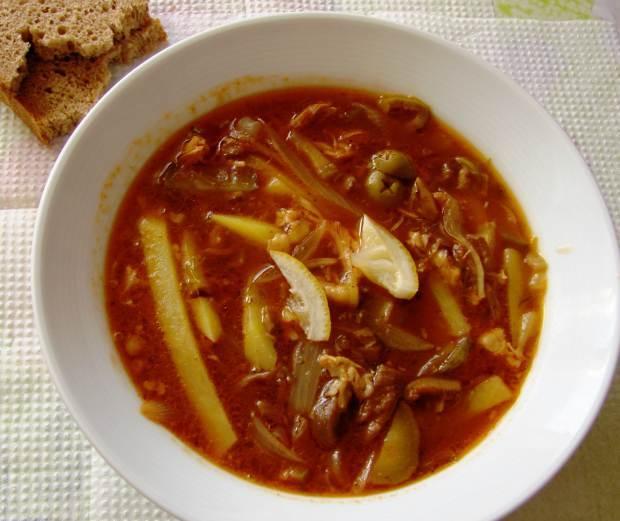 Солянка с картошкой рецепт классический пошаговый рецепт с на