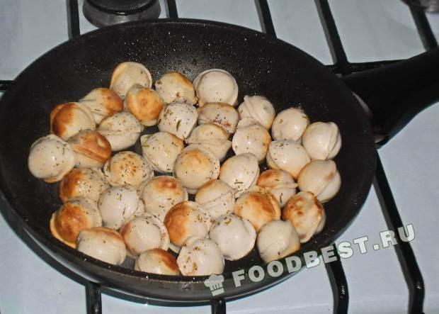 Вкусные пельмени рецепт с пошагово на сковороде