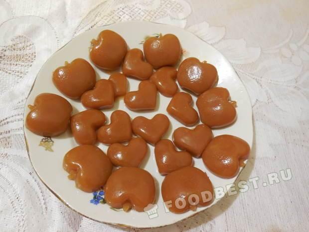 рецепт приготовления конфет коровка