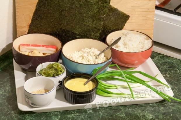 запеченные суши в домашних условиях пошаговый рецепт