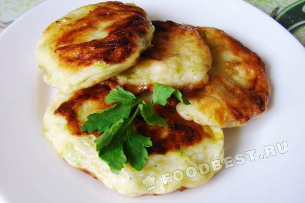 Диетические оладьи из кабачков рецепты с пошагово