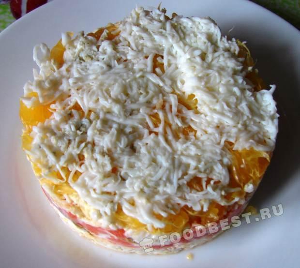 Салат жемчужина рецепт с пошагово