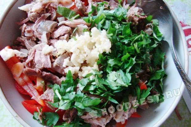 Салат тбилиси рецепт с пошаговым