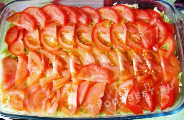 кабачки слоями духовке рецепт с фото