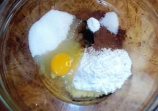Рассыпчатый шоколадный кекс в микроволновке - рецепт пошаговый с фото