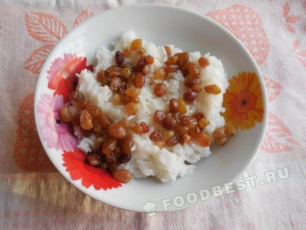 Кутья с рисом и изюмом поминальная рецепт
