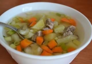 Простой рецепт супа из говядины с фото