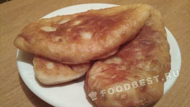 Рецепт жареных пирожков с картошкой грибами