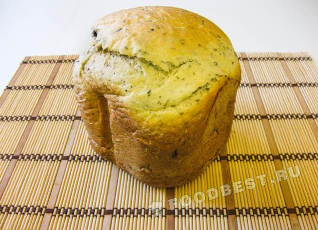 Приготовить хлеб из кукурузной муки в хлебопечке